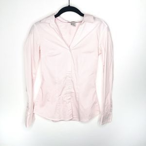 H & M | Striped Long Sleeve Button Up